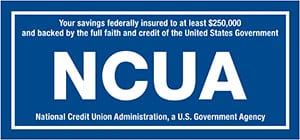 NCUA logo - National Credit Union Administration